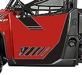 polaris ranger 900 doors - Dragonfire Racing ReadyForce Sunset Red LE Door Graphics Polaris Ranger XP 900