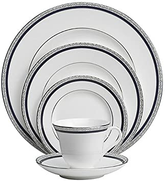 Amazon.com | Wedgwood Seville 5-Piece Dinnerware Place Setting Service for 1 Dinnerware Sets  sc 1 st  Amazon.com & Amazon.com | Wedgwood Seville 5-Piece Dinnerware Place Setting ...