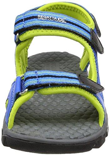 Regatta Terrarock Jnr, Sandalias de Senderismo Para Niños Azul (Frchbl/limep)