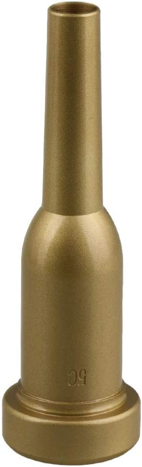 American Type Aggravation Trumpet Mouthpiece Copper 5c Hemp Gold Frosted