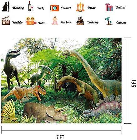 Dinosaurs Backdrops Kids Theme Birthday Party Photography Backgrounds Vinyl 7x5ft Dinosaur World Backdrop Photo Studio Props PHMOJEN PPH372
