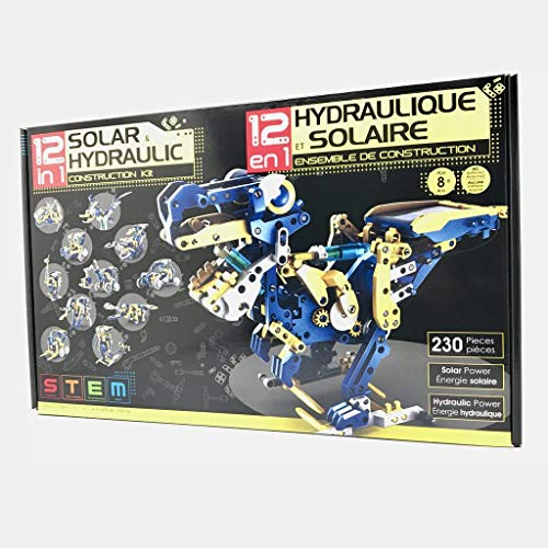 12-in-1 Solar Hydraulic Robot Kit 100% Original Merchandise
