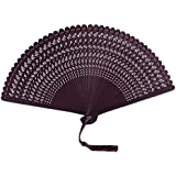 Chinoiserie Classical Bamboo Fan Hand Fan Beautiful Folding Fan Handheld Fan #03
