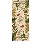 Cheap Homefires Butterflies and Dragonflies 26-Inch by 60-Inch Indoor Outdoor Hand Hooked Area Rug