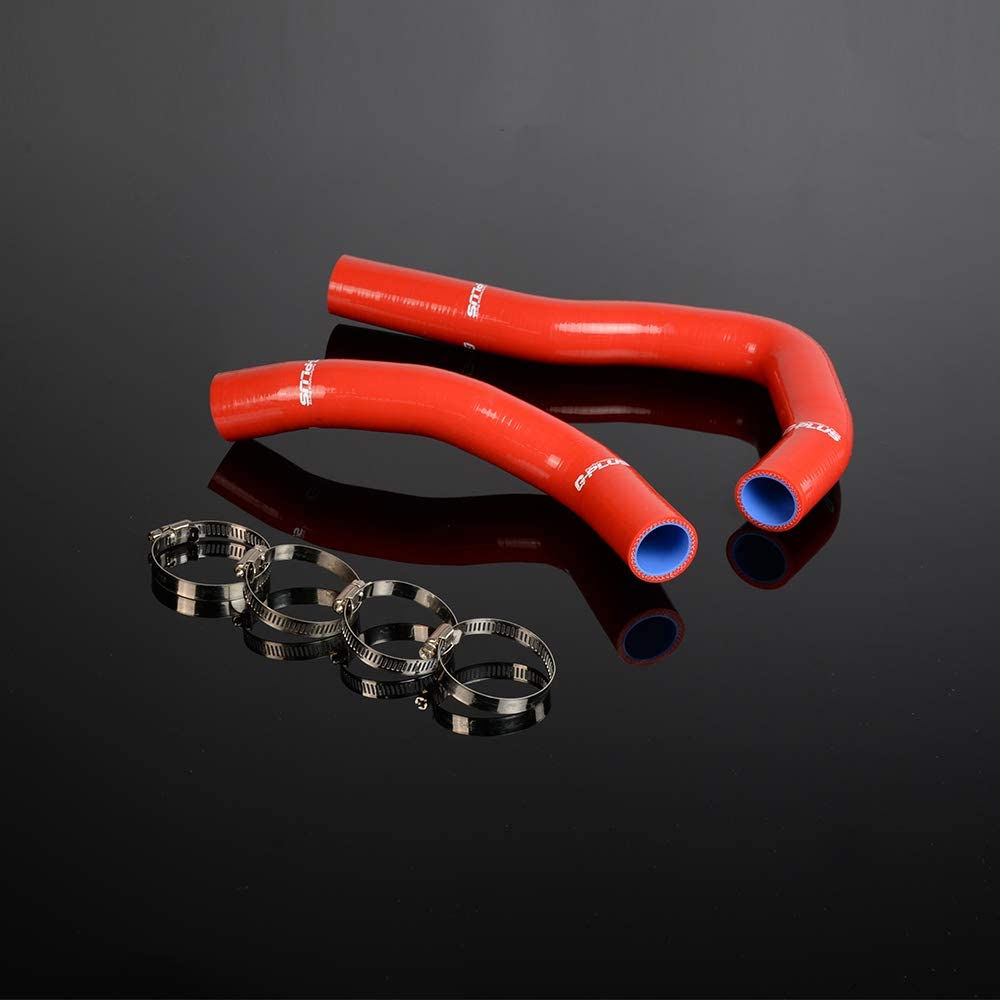 Silicone Radiator Hose Kit For HONDA INTEGRA TYPE-R//-X//S//IS DC5//ACURA RSX K20A Radiator Hose Clamps Kit RED