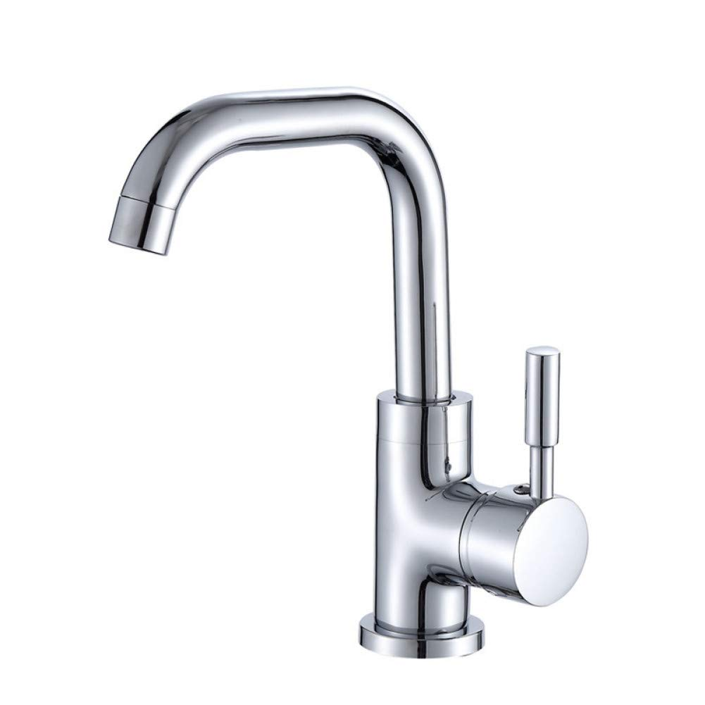 7 Field L22LW Faucet Copper Kitchen Small Bend Sink Mixer Kitchen Mixing of Hot and Cold Water Seven Field Taps Toiletries.