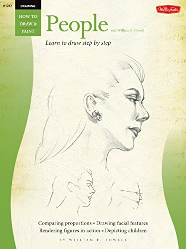Drawing: People with William F. Powell: Learn to paint step by step (How to Draw & Paint)