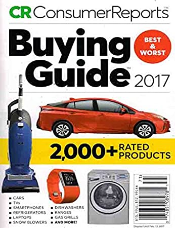 amazon com consumer reports buying guide 2017 the editor s of rh amazon com Consumer Reports Cars Juicers Consumer Reports