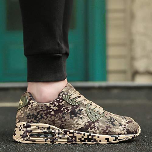 Unisexe Chaussures Chaussures l'usure De À Respirant Chaussures Décontractées Amoureux Mode Chaussures Antichoc Running Sport Résistant Camouflage q0Etwap