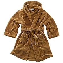 Childrens Boys Star Wars Jedi Robe Soft Fleece Dressing Gown Bathrobe