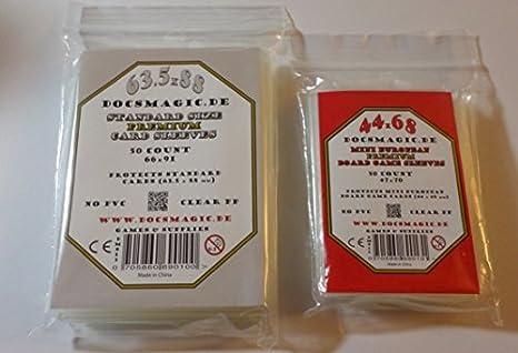 80 x 80 - 10 Packs 1000 x Medium Square docsmagic.de 7th Continent Card Sleeves Bundle