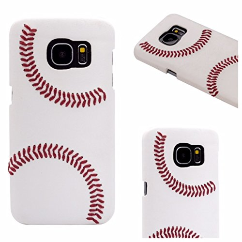 Leather Baseball Cell Case - 4