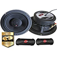 CDT Audio ES-610X.2 6.7 Audiophile Component coaxial 2-way Speaker System ES610X 2 OHM VERSION