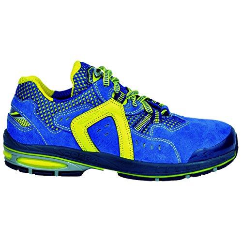 """Cofra 19050–000.w46Talla 46s1P SRC–zapatos de seguridad Final de ocho """", color azul y amarillo"""