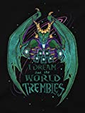 JINX-Hearthstone-Mens-I-Dream-and-The-World-Trembles-Premium-CottonPoly-T-Shirt