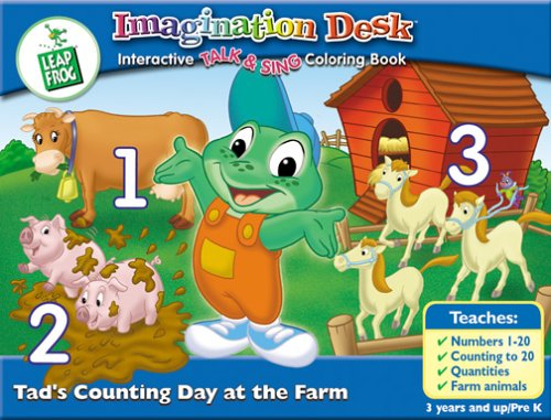 LeapFrog Imagination Dekt Interactive Talk & Sing Farbeing Book