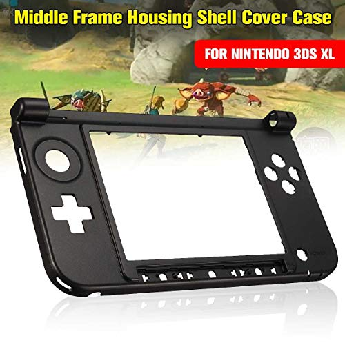 Housing Shell Cover Case Original Bottom Middle Frame Replacement Kits Console Cover for 3DS XL/LL Game Console Games Cases ()