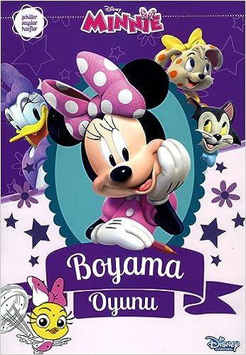 Disney Minnie Boyama Oyunu 9786050941944 Amazoncom Books