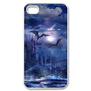 Hard Shell Case Of Dragon Customized Bumper Plastic case For Iphone 4/4s