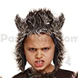 Blue Planet Fancy Dress  Childrens Kids Wolf Hat Ears Costume Accessory (7-12 Years)