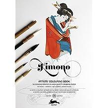 Pepin Press Pepin Press Kimono : ARTISTS'COLOURING BOOK (98062 )