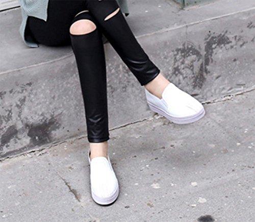 scarpe ascensore Ms. primavera rotonde sceglie i pattini scarpe casual signora scarpe sportive della bocca poco profonda , US7.5 / EU38 / UK5.5 / CN38