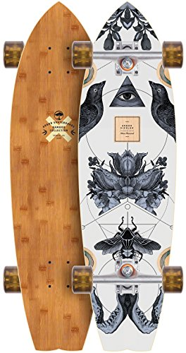 Arbor Sizzler Bamboo 2017 Complete Longboard Skateboard New