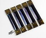 30- PACK Metal Internal Flex Frames Lot Kiss Clasp Bag Coin Purse (8.5cm)