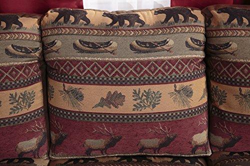 Amazon.com: American Furniture Classics Sierra Lodge Sofa: Kitchen U0026 Dining