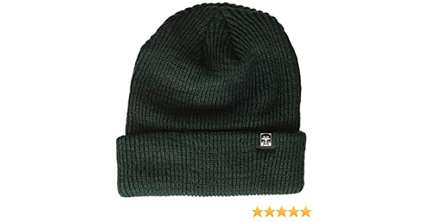 e13938821 Amazon.com: Obey Men's Ruger 89 Beanie, Dark Pine, ONE Size: Clothing