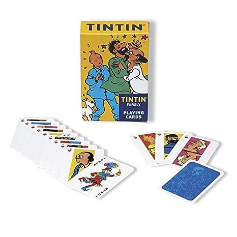 Juego de 54 cartas de baraja francesa Tintín: La familia de ...