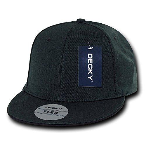 DECKY Flat Bill One Size Flex Cap, -