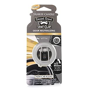 Yankee Candle Company 1312850Z New Car Scent Car Vent Clip