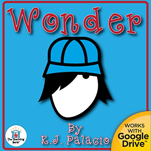 Wonder By R.J. Palacio Novel Unit Study CD