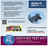 Indoor Air Quality Home Test Kit - Includes All Materials, Postage and Lab Fees