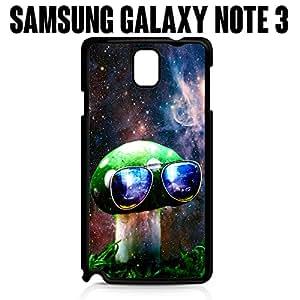 Teléfono Móvil Cool Mushroom espacio Galaxy para Samsung Galaxy Note 3Plástico Negro (barcos de CA)
