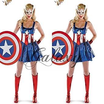 女性用キャプテンアメリカ