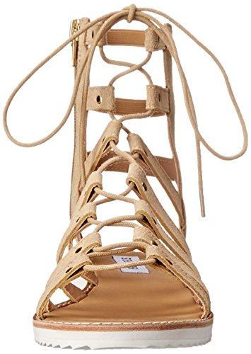 Steve Madden Maybin Camoscio Sandalo Gladiatore