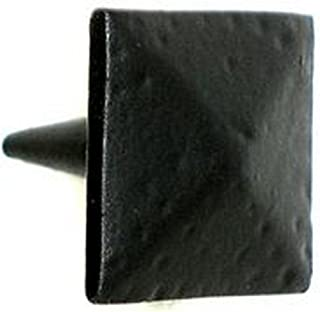 product image for Acorn Manufacturing CLBBP Clavos Collection 1.625 Inch Pyramid Decorative Stud, Black Iron Finish