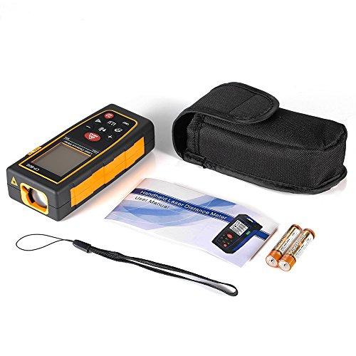 Laser Measuring Instruments : Laser distance measure m ft handheld range finder