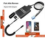 Alfa Romeo Audio & Electronics - Fiat Alfa Romeo Lancia Stereo AUX Adapter, Digital Car Audio Input Interface with SD Card, MP3 USB, 3.5mm AUX in, Music Player for Fiat 1995-2011, Alfa Romeo 1997-2011 (M06-FA)
