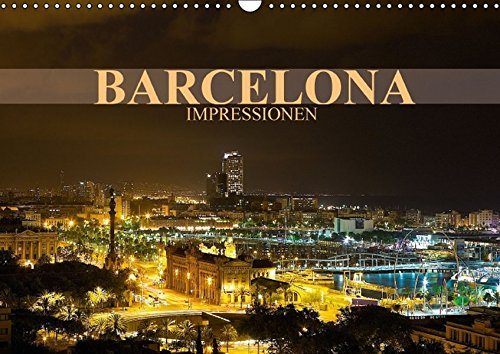 Barcelona Impressionen (Wandkalender 2016 DIN A3 quer): Kommen Sie mit auf eine Reise in die katalanische Metropole Barcelona (Monatskalender, 14 Seiten) (CALVENDO Orte)
