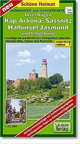 Rugen Kap Arkona Sassnitz Halbinsel Jasmund Und Umgebung