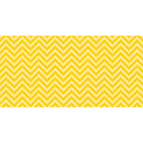 Fadeless PAC55805 Bulletin Board Art Paper, Chic Chevron-Yellow, 48