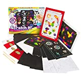 Creative Kids Ultimate Scratch It Off Papers Activity Set for Kids | Rainbows Scratchboard Arts & Crafts Kits for Children | Party Favor Pack, Schools, Birthdays | for Boys & Girls Ages 3+