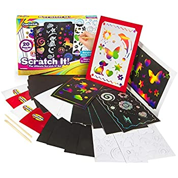 Amazon Com Creative Kids Ultimate Scratch It Off Papers Activity