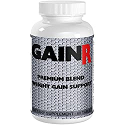 GAINR BEST WEIGHT GAINER and Weight Gain Pills. If you need to GAIN WEIGHT FAST GAINR Protein Supplements works fast. GAINR is a powerful weight gainer for WOMEN and Men for MASS GAINER