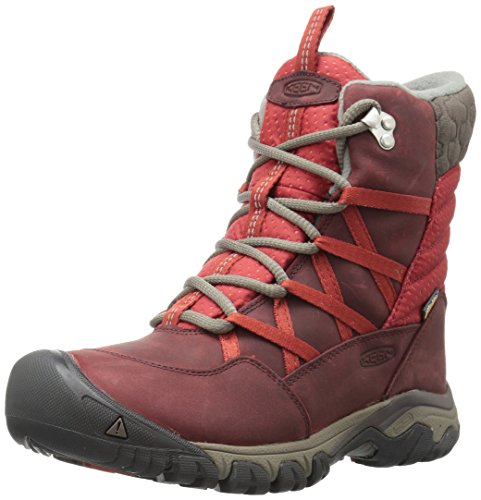 Keen Snow Boots (KEEN Women's Hoodoo III Lace up-w Snow Boot, Syrah/Tandori Spice, 7.5 M US)
