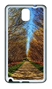 Park Alley Custom Design Samsung Galaxy Note 3 / Note III/ N9000 Case Cover - Tpu - White