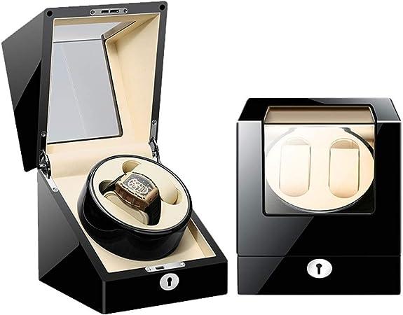 K-Y Caja Relojes Automaticos Estuche de Cuero Giratorio automático 2 + 0 (Color : E): Amazon.es: Hogar